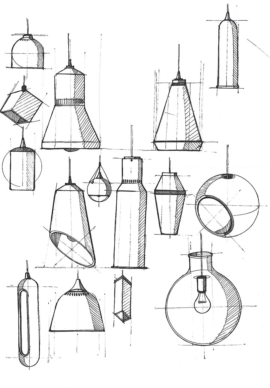 Lamp No2 Sketches
