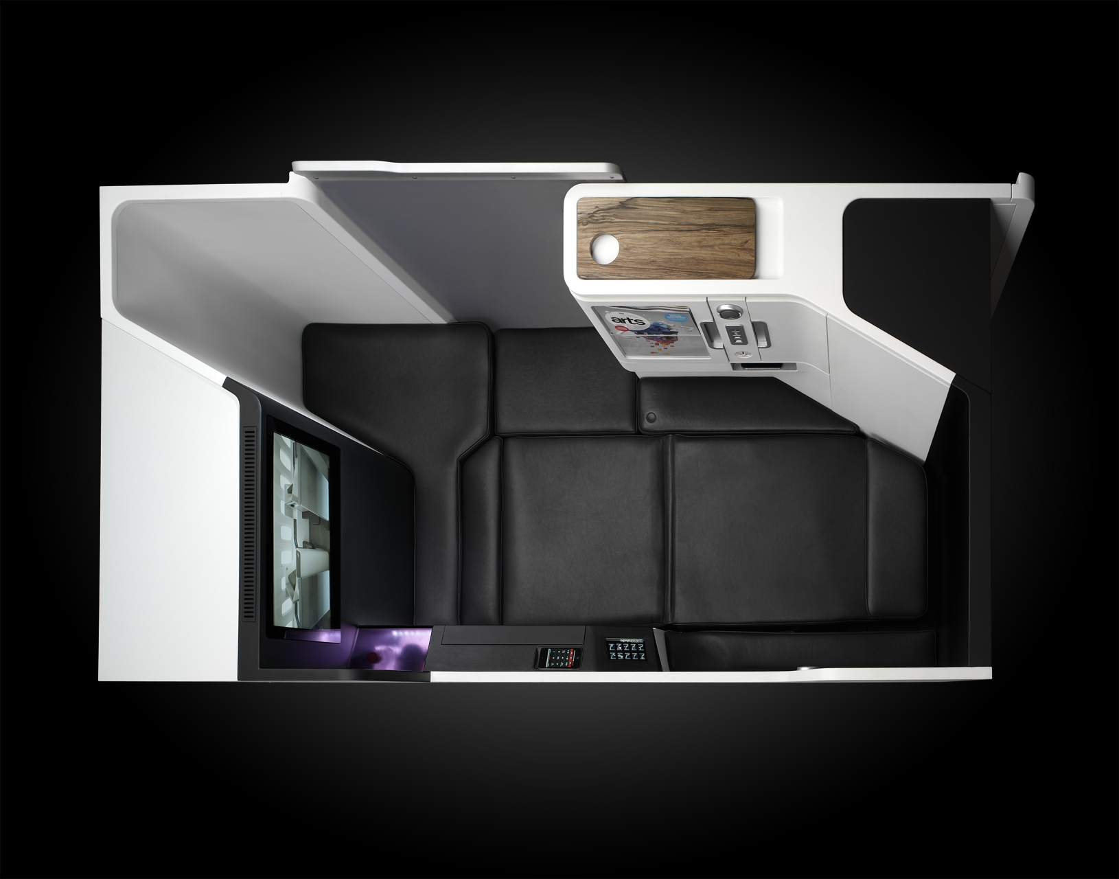 BA50 – Cabin interior